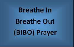 BIBO prayer